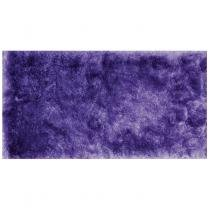 Tapete Clássico Liso Silk Shaggy 50cm x 1,00m Niazitex Lilás -