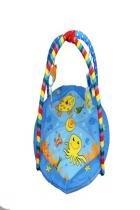 Tapete De Atividade Para Bebê Portátil Pronta Entrega - Azul - Colorbaby