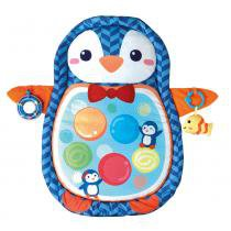 Tapete de Atividades com Almofada - Hora de Dormir do Pinguim - Winfun - Yes Toys