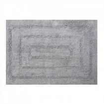 Tapete de Banheiro Las Vegas 50cm x 70cm Niazitex Cinza - b7ef7d07815