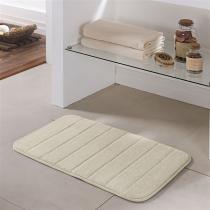 Tapete de banheiro miami 0,45 x 0,75 / niazitex - MARFIM - Niazitex