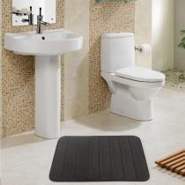 Tapete de banheiro miami 0,60 x 0,90 / niazitex - MARROM - Niazitex