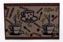 Tapete de cozinha 40x60cm café - Rozac