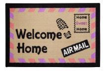 Tapete de Porta 40x60 cm Happy Day Air Mail  Corttex - Corttex