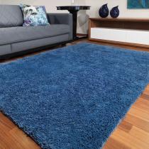 Tapete de Sala e Quarto Pelo Alto Realce 1,50x1,00 Jolitex - Azul -