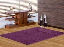Tapete de Sala Shaggy 1,00X1,40 Purpura - Asiatex
