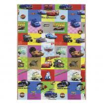 Tapete Disney Recreio Enrolado Carros 120x180 cm - Jolitex - Carros - Jolitex