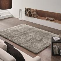 Tapete Felpudo Apolo Soft Casa Dona 100x150cm Cinza -