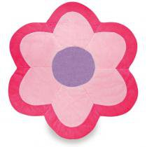 Tapete flor g especial rosa - anjos baby -