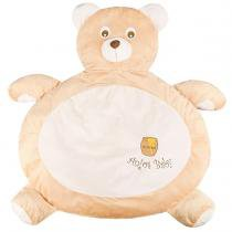 Tapete fluffy urso doce de leite - anjos baby - Anjos baby
