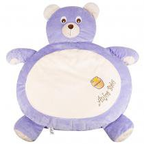 Tapete fluffy urso lilás - anjos baby - Anjos baby