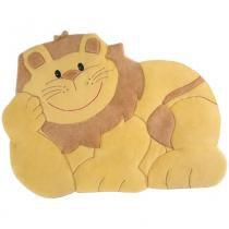Tapete Grande Emborrachado Leão Deitado - Tapete mágico