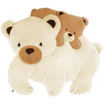 Tapete Grande Emborrachado Urso Polar - Tapete mágico