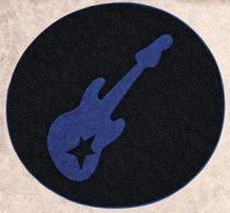 Tapete Guitarra - Royal - Guga Tapetes