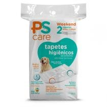 Tapete Higiênico Pet Society PS Care Weekend 2 unidades - Pet Society