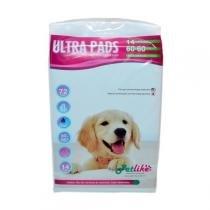 Tapete higiênico Ultra Pads Super Fino 14 Unidades 60x60 Petlike -