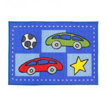 Tapete Infantil Carros Clean Kasa 50cm x 70cm - KAPAZI - Kapazi
