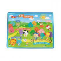 Tapete Infantil Emborrachado Fisher Price 155x120cm - Colorido - Fisher Price