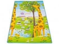 Tapete Infantil Girafa ABC Dupla Face - Ibimboo 1,80x1,20cm
