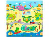 Tapete Infantil Play Mat Dino Sports 1 Peça - 125x125cm Dupla Face Safety 1st