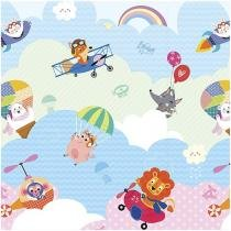 Tapete Infantil Play Mat I Love Sky 1 Peça - 185x125cm Dupla Face Safety 1st