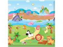 Tapete Infantil Play Mat The Sport Animals 1 Peça - 17x17cm Dupla Face Safety 1st