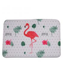 Tapete Joyful Flamingo Poliéster 40X60CM - 29742 - Urban