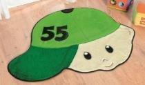 Tapete Menino Número - Verde Bandeira - Guga Tapetes