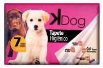 Tapete para Cão e Gato Higiênico Kdog com 7 - Comprenet