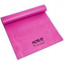 Tapete Para Yoga By Cau Saad Antiderrapante Rosa Acte -