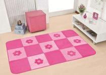 Tapete Passadeira Big Margaridas - Pink - Guga Tapetes