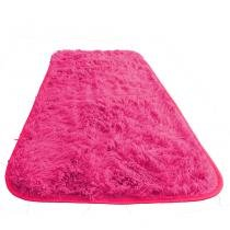 Tapete Passadeira Super Peludo Decor Magazine 2,85 x 0,60 Rosa -