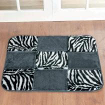 Tapete Retangular Patchwork Zebra - Colorido - Guga Tapetes