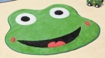 Tapete Sapo Olho - Verde Bandeira - Guga Tapetes