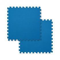Tatame EVA 2 Peças 2cm Azul 40100018 - Mor - Mor