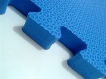 Tatame Tapete EVA Com Borda 50 X 50 X 2cm Azul Royal -