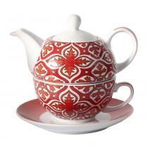 Tea for one porcelana 400ml stambul - lhermitage - Unica -