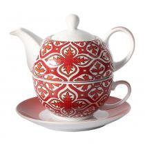 TEA FOR ONE PORCELANA 400ML STAMBUL - LHERMITAGE