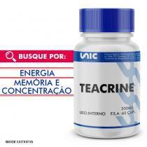 Teacrine 200mg 60 cáps com selo de autenticidade - Unicpharma