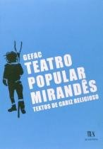 Teatro popular mirandes - textos de cariz religios - Almedina brasil - br