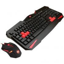 Teclado e Mouse Gamer Redragon Vajra com Mouse Centrophorus 2000dpi 6 botões S101 - Redragon