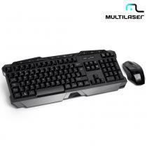 Teclado e Mouse Sem Fio 2.4 Ghz Multimídia TC166  Multilaser - Multilaser