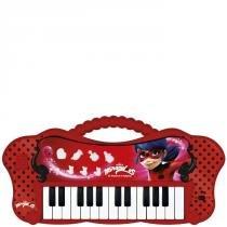 Teclado Eletrônico Miraculous Ladybug - Fun - Fun Brinquedos