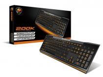 Teclado Gamer Cougar USB 200K - Padrão Brasileiro