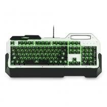 Teclado Gamer Mecânico com Led Single Color Warrior TC217 - Multilaser - Multilaser