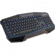 Teclado gamer usb cobra commander preto e-blue - E-blue