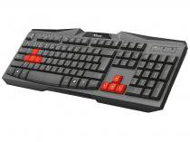Teclado Gamer USB GAMING ZIVA - Trust