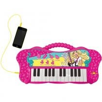 Teclado Glamouroso Barbie - Fun - Fun