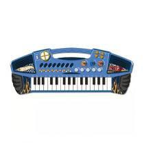 Teclado Infantil Grande Hot Wheels Azul 7204-3 - Fun -