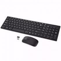 Teclado Mouse Wireless S/ Fio 320dpi Smart 2.4ghz K99 Preto - Bk imports